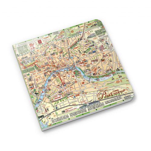 pisa tour map mockup